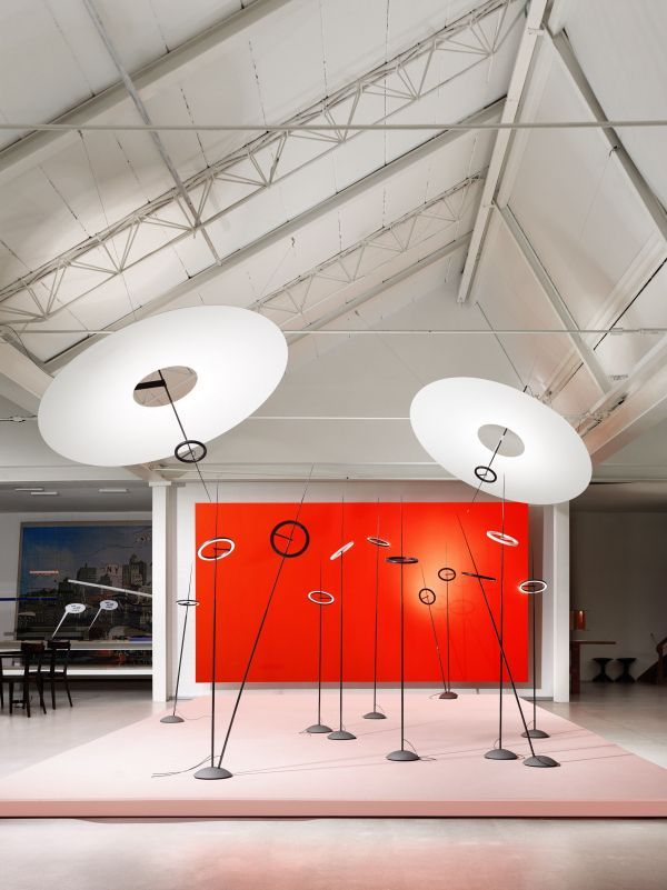 Ingo Maurer Ringelpiez vloerlamp LED 3000K