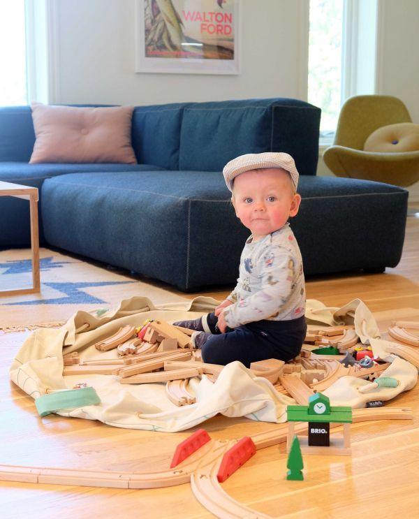 Kaos Samlesak speelgoed opberger