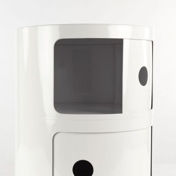 Kartell Componibili kast rond small (1 comp.)