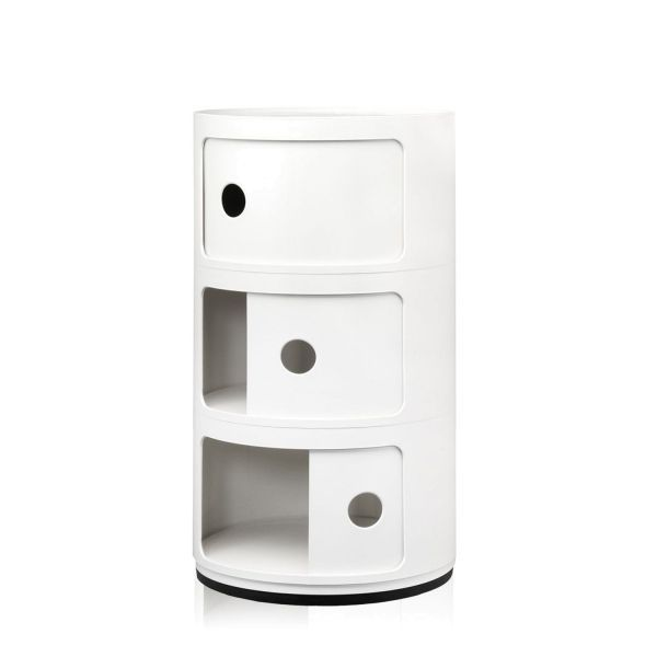 Kartell Componibili kast rond large (3 comp.)