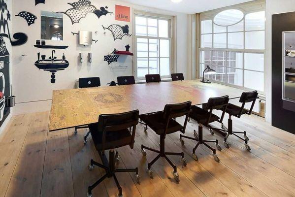 Lensvelt Made In The Workshop Office chair bureaustoel gestoffeerd