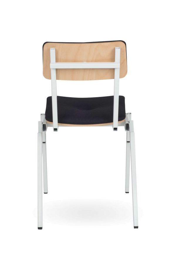 Lensvelt Made In The Workshop Stackable Chair stoel gestoffeerd