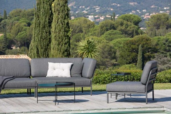 Houe Level loungeset tuin 1 dark grey