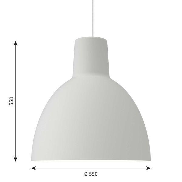 Louis Poulsen Toldbod 550 LED hanglamp