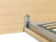 Loof Basket bed met hoofdbord 185x205