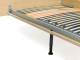 Loof Basket bed met hoofdbord 160x200