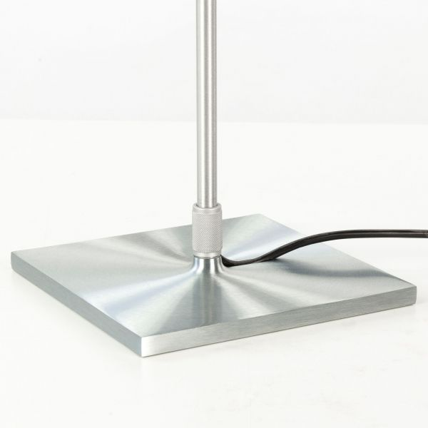 Luceplan Costanza tafellamp telescopisch met dimmer aluminium