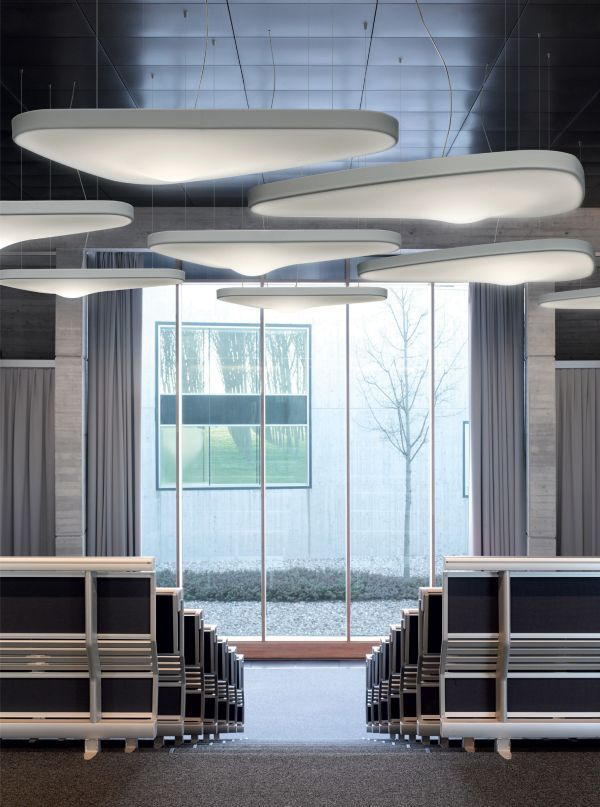 Luceplan Petale akoestische hanglamp 154x120 LED