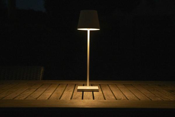 Lucide Justin tafellamp LED oplaadbaar IP54