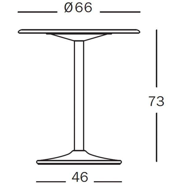 Magis Pipe tafel 66