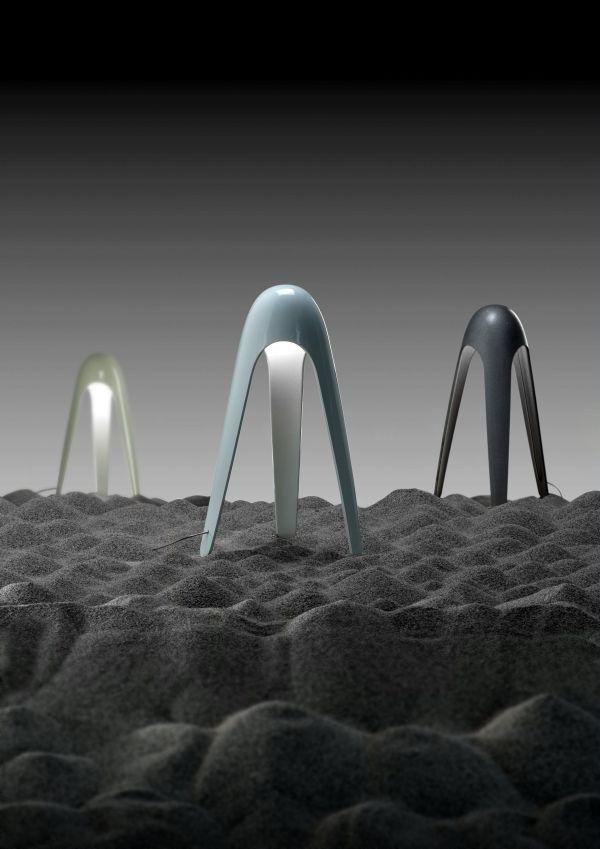 Martinelli Luce Cyborg tafellamp LED 3000K