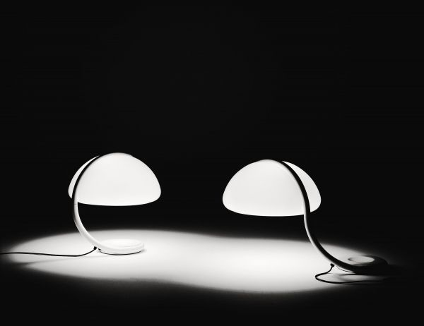 Martinelli Luce Serpente tafellamp