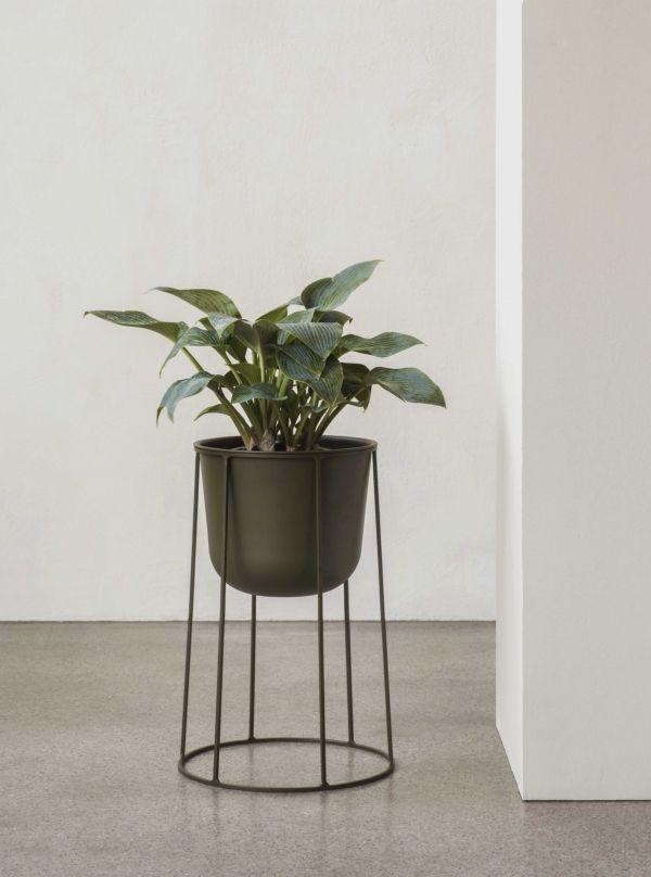 Menu Wire 404 plantenbak zwart