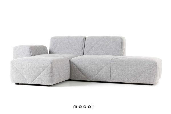 Moooi BFF Sofa bank met chaise longue links