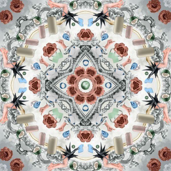 Moooi Carpets Utopian Fairy Tales Ice vloerkleed 250