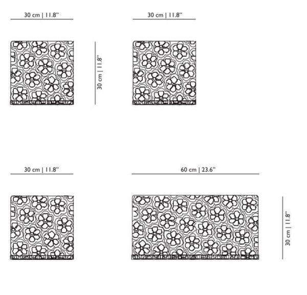 Moooi Crochet bijzettafel 30x30