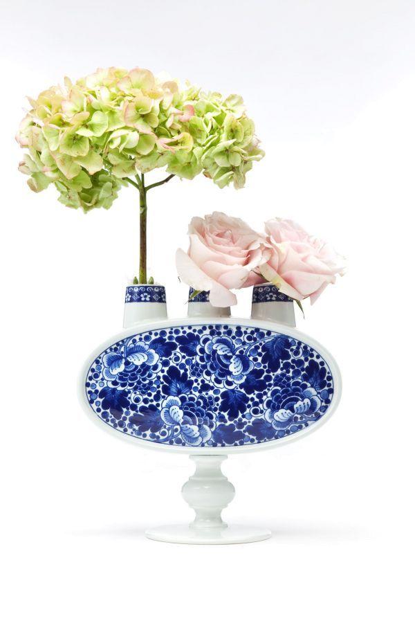Moooi Delft blue NO. 3 vaas
