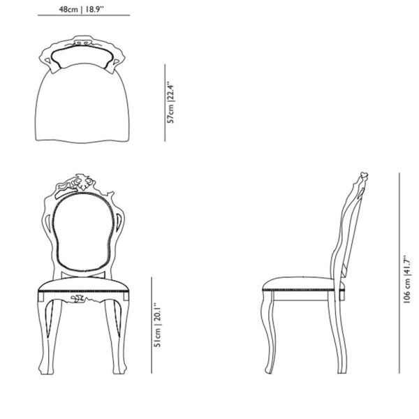 Moooi Smoke Dining Chair stoel