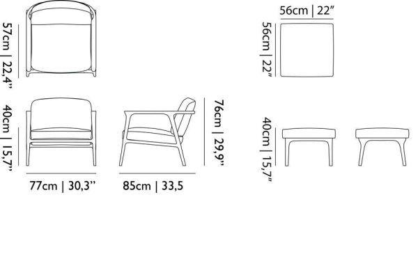 Moooi Zio fauteuil