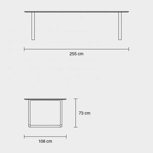 Muuto 70/70 tafel 225x90
