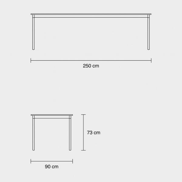 Muuto Base tafel 250x90