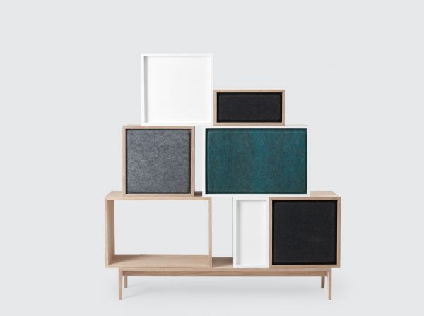 Muuto Stacked kast Acoustic Panel large