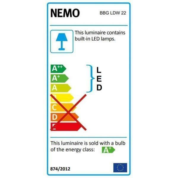 Nemo Borne béton grande tafellamp LED
