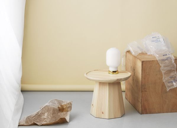 Normann Copenhagen Amp Table Lamp Brass tafellamp