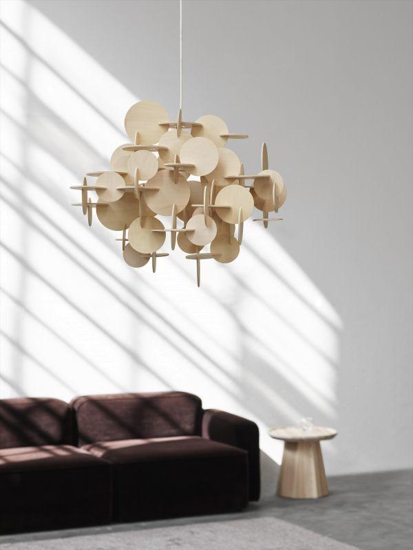 Normann Copenhagen Bau hanglamp large nature