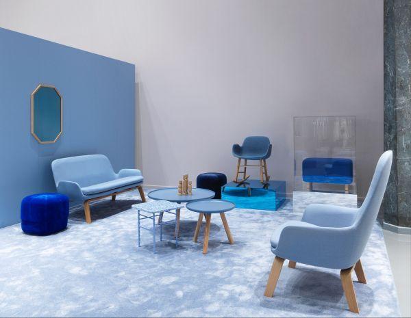 Normann Copenhagen Era Sofa bank met eiken onderstel