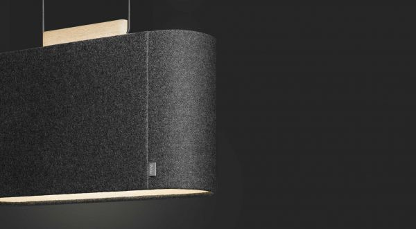 Pablo Belmont 26 hanglamp LED akoestisch