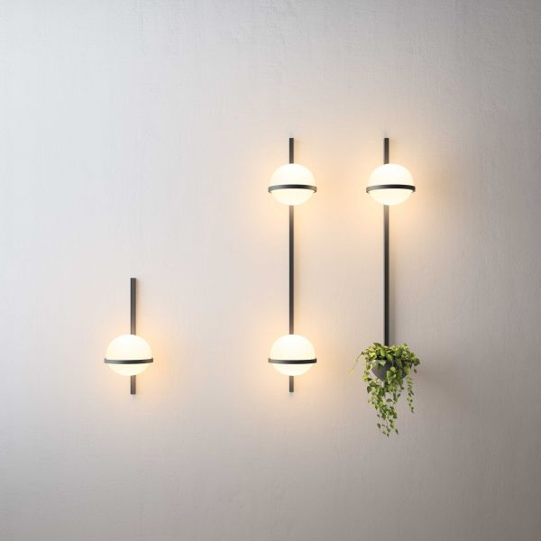 Vibia Palma Wandlamp 3714 LED met plantenbak