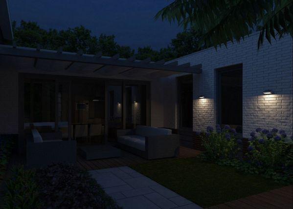 Philips Greenhouse wandlamp met zonnecel