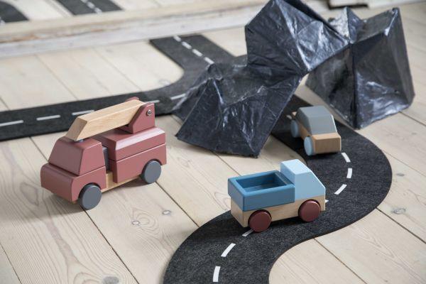 Sebra Autobaan speelgoed vilt