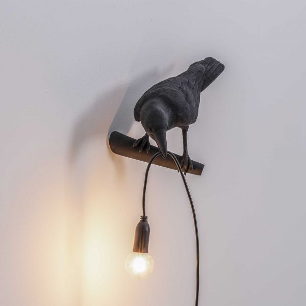 Seletti Bird Looking wandlamp links