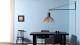 Secto Design Victo 4250 hanglamp met zwarte wandbeugel