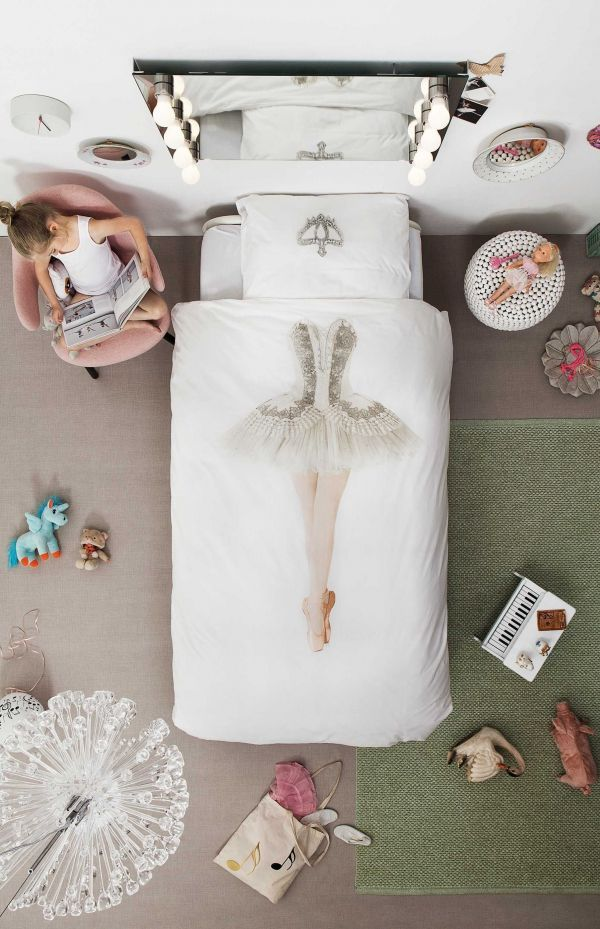 Snurk Ballerina dekbedovertrek 140x220