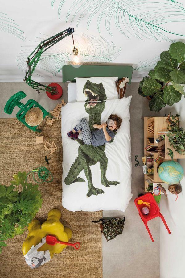 Snurk Dino dekbedovertrek 140x220