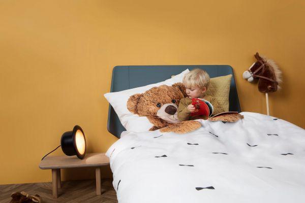 Snurk Teddy Bear flanel dekbedovertrek 140x200