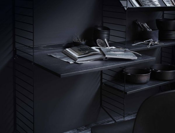 String Dressoir medium, zwart