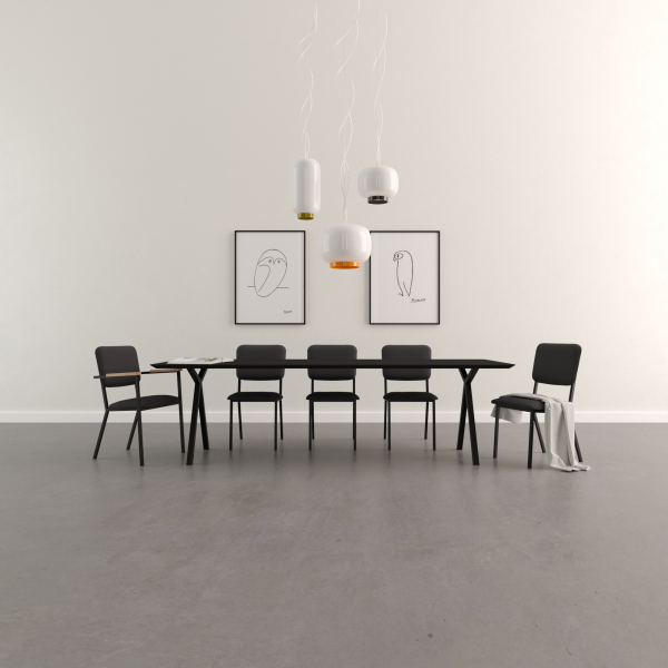 Studio HENK Slim X-Type tafel 260x100
