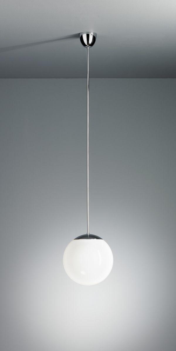 Tecnolumen Pendelleuchte mit Opalkugel 350 hanglamp