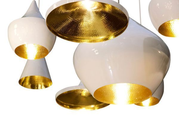 Tom Dixon Beat Light Tall hanglamp wit