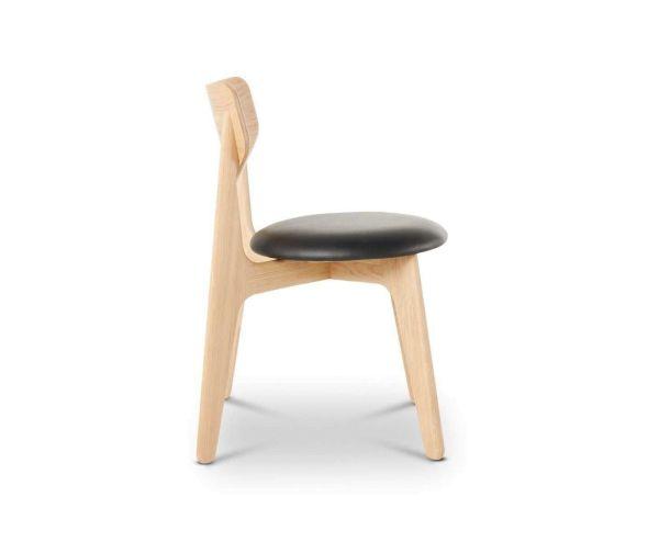 Tom Dixon Slab Side chair stoel gestoffeerd