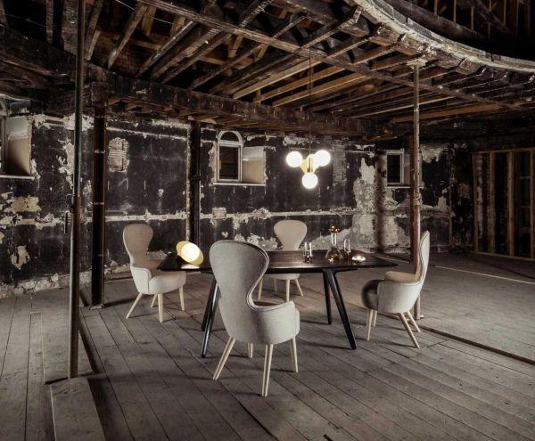 Tom Dixon Slab tafel 200x96 zwart