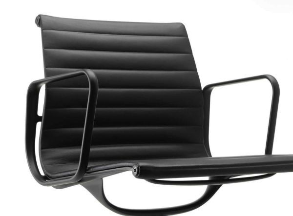 Vitra Aluminium Chair Black EA 108