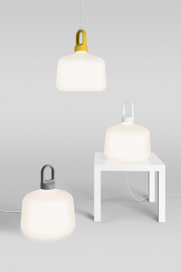Zero Bottle hanglamp fluo