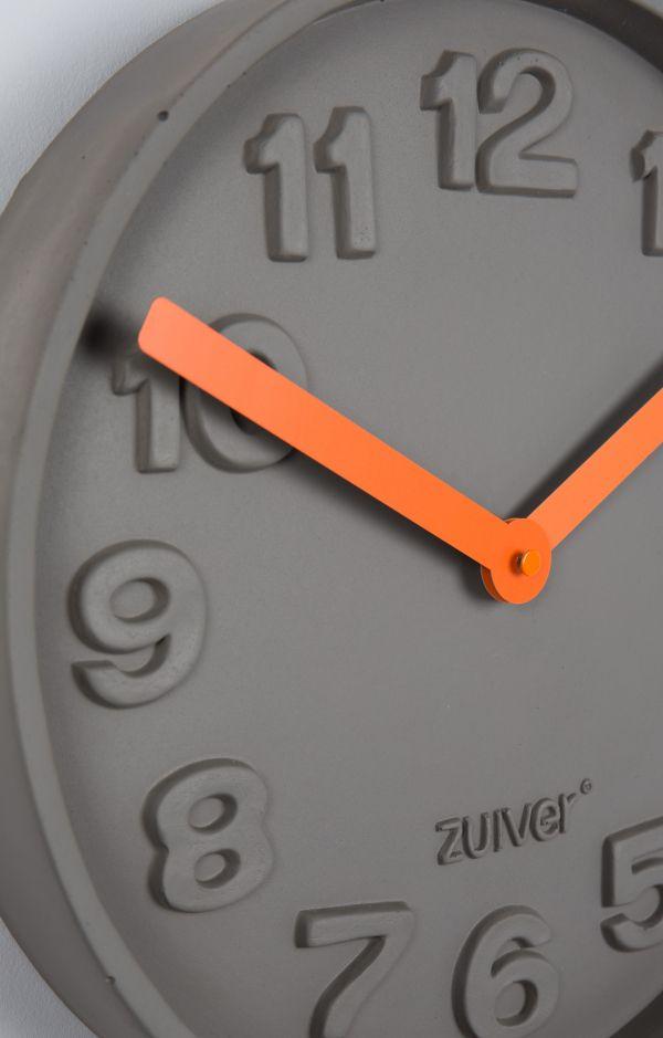 Zuiver Concrete Time klok