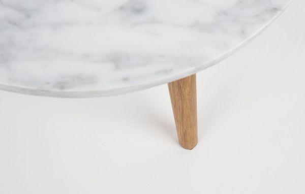 Zuiver White Stone bijzettafel medium 40