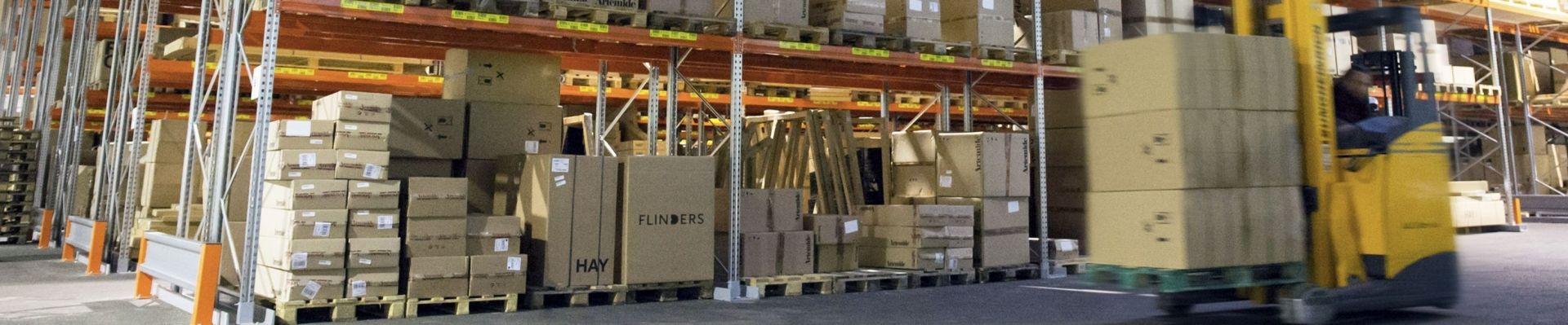 Flinders magazijn